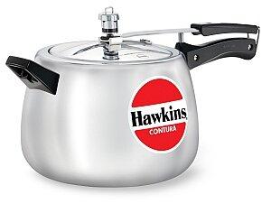 6.5 Qt. Hawkins Contura Aluminum Pressure Cooker by Hawkins