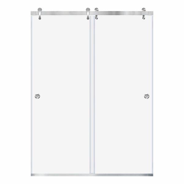 Ultra-H 48 x 76 Bypass Frameless Shower Door by LessCare
