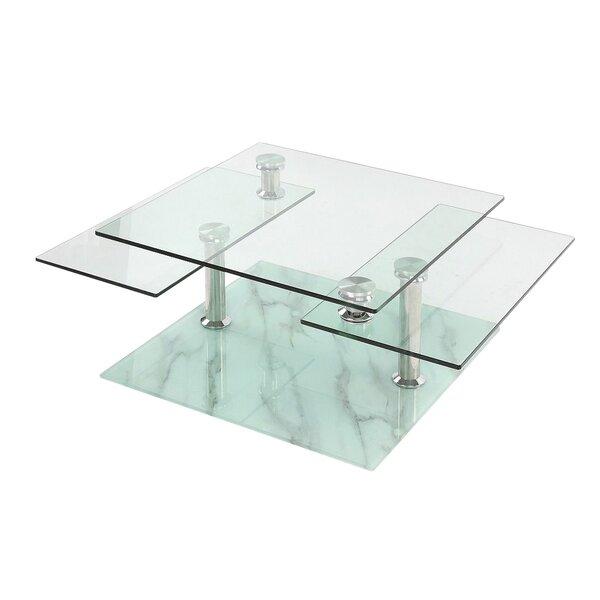 Review Esmeralda Floor Shelf Coffee Table With Storage