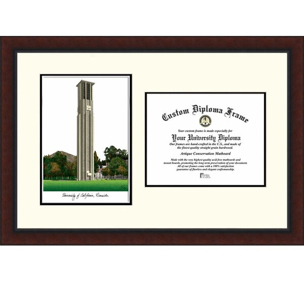 NCAA UC Riverside Legacy Scholar Legacy Scholar Framed Photographic Print by Campus Images