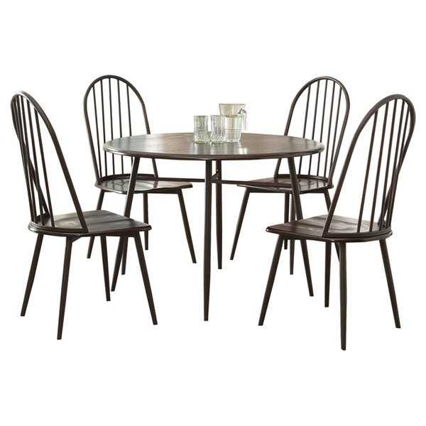 Irion 5 Piece Dining Set by Hokku Designs
