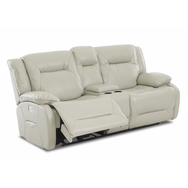 Our Offers Rutan Reclining Loveseat by Charlton Home by Charlton Home