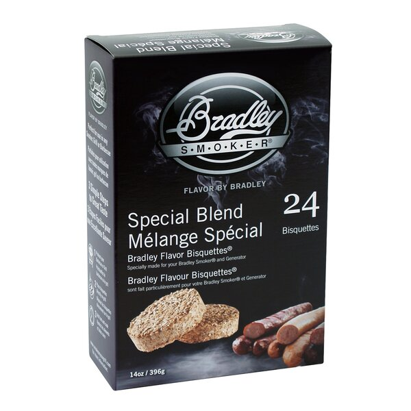 Special Blend Flavor Bisquettes (Set of 24) by Bradley Smoker