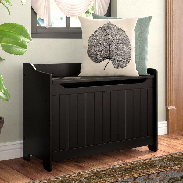 Cora Wood Storage Bench by Winston Porter