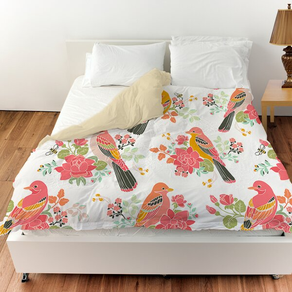 Littlest Bird Duvet Cover by Manual Woodworkers & Weavers
