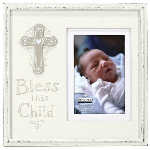 Bless This Child Picture Frame by Malden