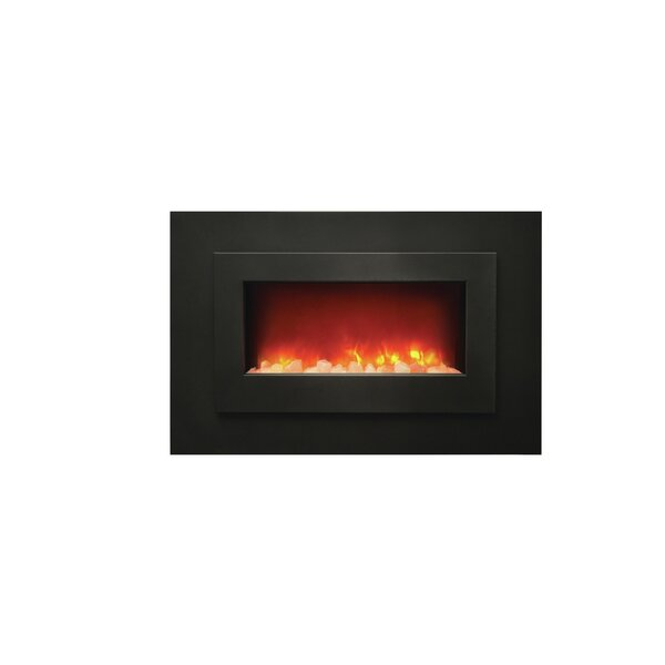 Sheila Recessed Wall Mounted Electric Fireplace by Orren Ellis