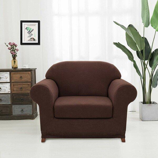 Box Cushion Armchair Slipcover By Latitude Run