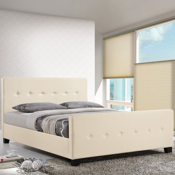 Full/Double Upholstered Platform Bed by Modway
