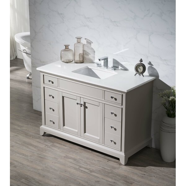 Edgar 49 Single Bathroom Vanity by Three Posts