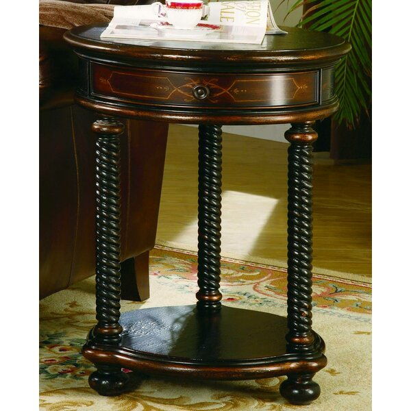 Wescott End Table with Storage by Hooker Furniture