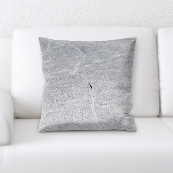 Winter Feeling (65) Throw Pillow by Rug Tycoon