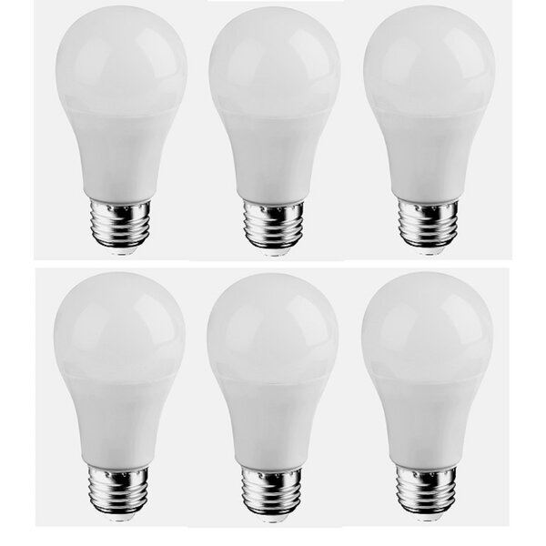 7W E26/Medium LED Light Bulb (Set of 6) by Elegant Lighting