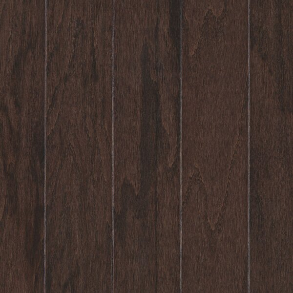 Palacio Random Width Engineered Oak Hardwood Flooring in Chocolate by Mohawk Flooring