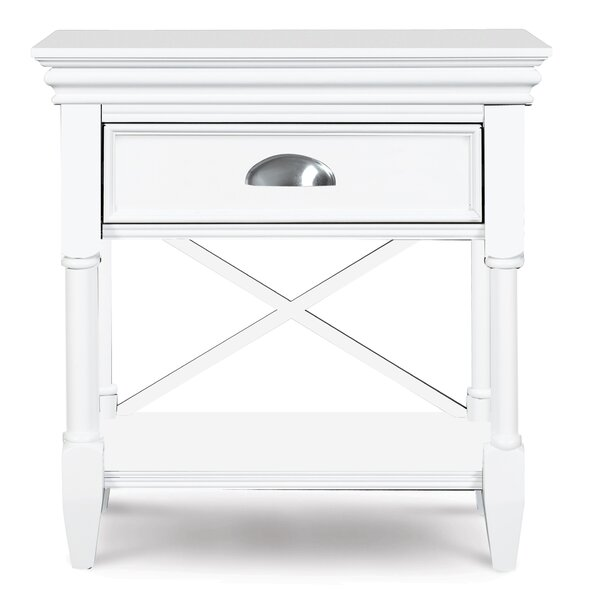 McLelland 1 Drawer Nightstand by Darby Home Co