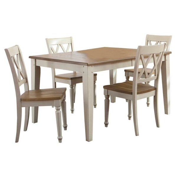 Cher 5 Piece Extendable Dining Set by Rosalind Wheeler