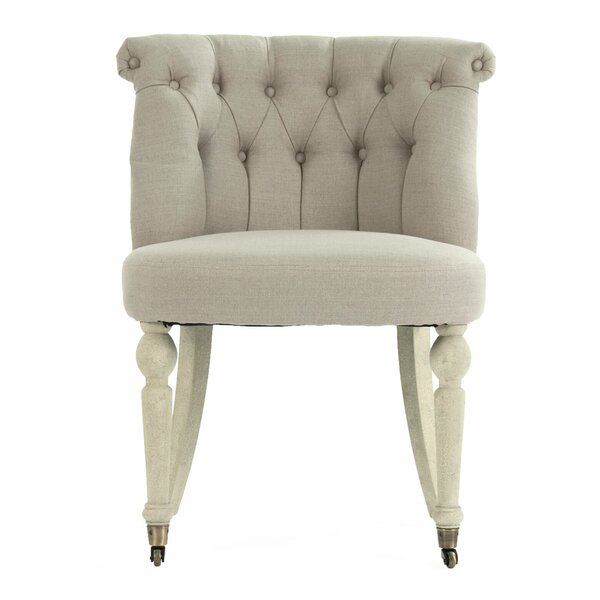 Niccolo Slipper Chair by One Allium Way One Allium Way