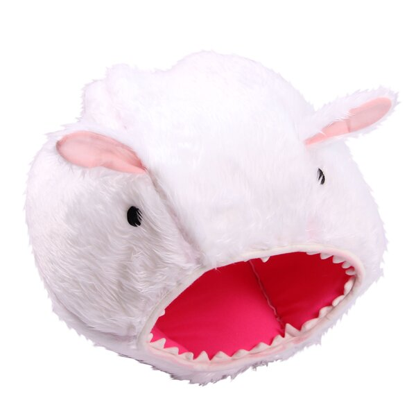 Rabbit Shape Pet Bed by Purrrfect Life