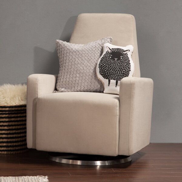 Trapeze Swivel Glider by babyletto
