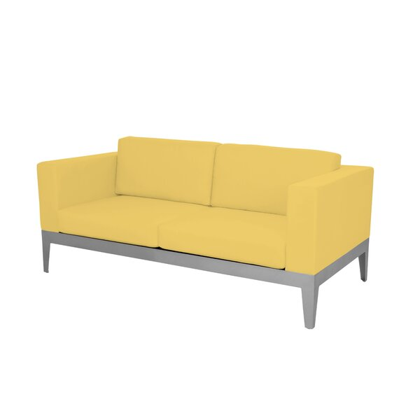 Angelina Loveseat with Cushion by Brayden Studio
