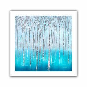 'The Glade' Graphic Art on Rolled Canvas by Andover Mills