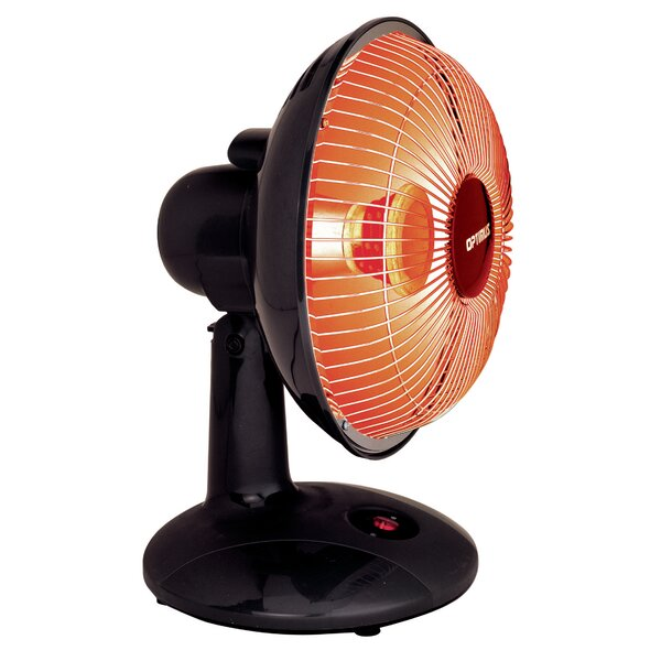 300 Watt Portable Electric Radiant Compact Heater by Optimus