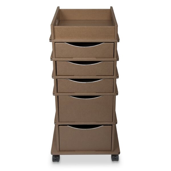 TrippNT Disposable Storage Cart With 5 Drawers | Wayfair