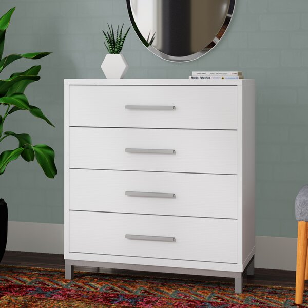 Hodge Utility 4 Drawers Chest by Wrought Studio