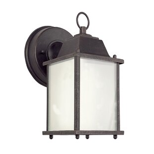 Read Reviews Terrazas 1-Light Outdoor Wall Lantern By August Grove