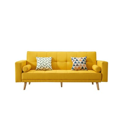 Yellow Sofa Beds You Ll Love In 2019 Wayfair