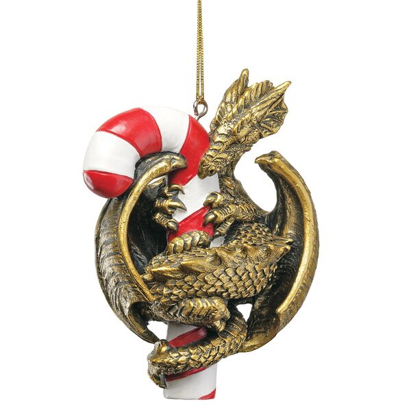 Dragon with a Sweet Tooth 2009 Holiday Ornament by Design Toscano