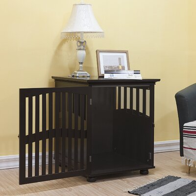 kirkland buddy residence pet crate end table