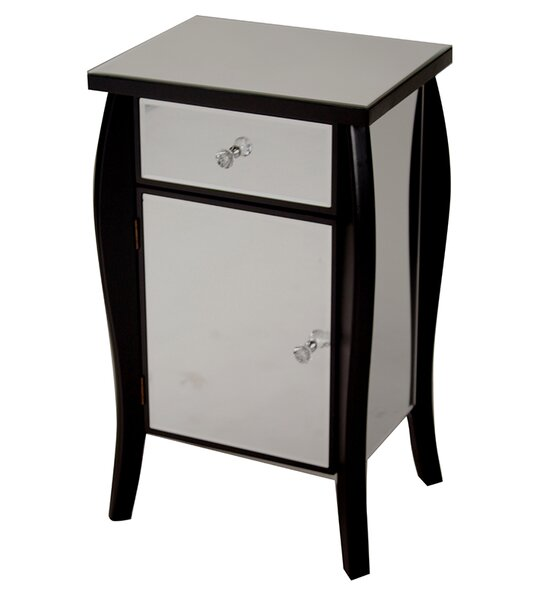 Frieda 1 Drawer 1 Door Accent Cabinet by House of Hampton