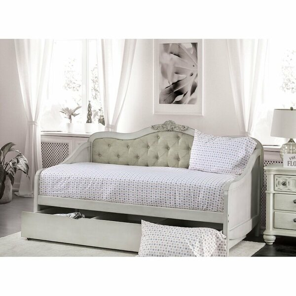 Flynn Twin XL Daybed with Trundle by One Allium Way