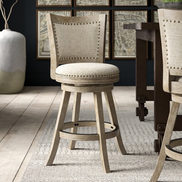 Joanne 24 Swivel Bar Stool by Greyleigh