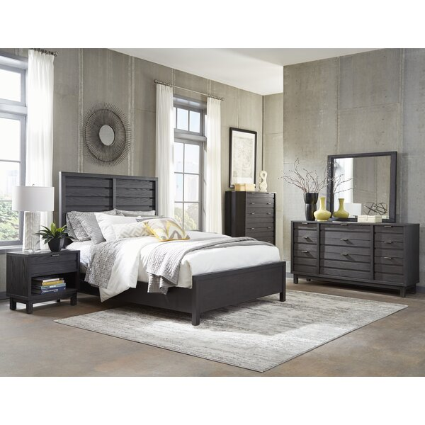Kirk Queen Panel Configurable Bedroom Set by Wrought Studio