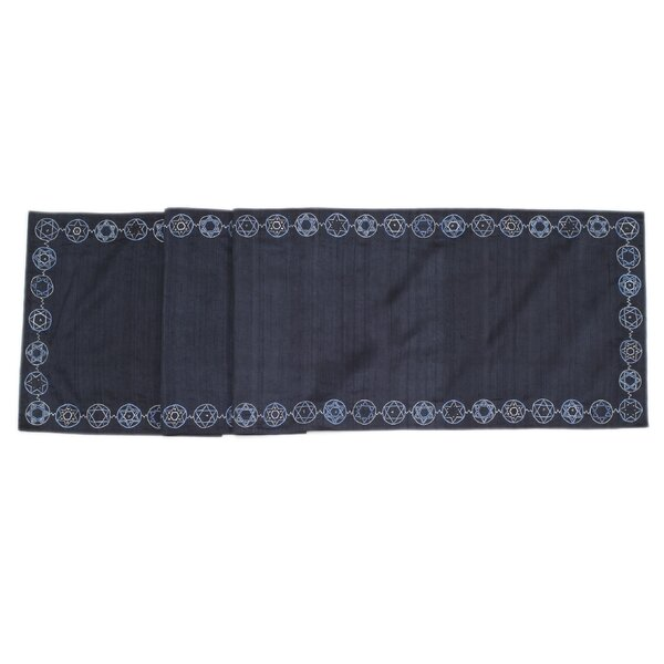 Star of David Table Runner by Arcadia Home