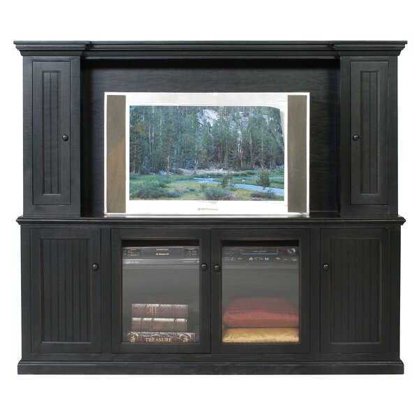 Didier Solid Wood Entertainment Center For TVs Up To 60
