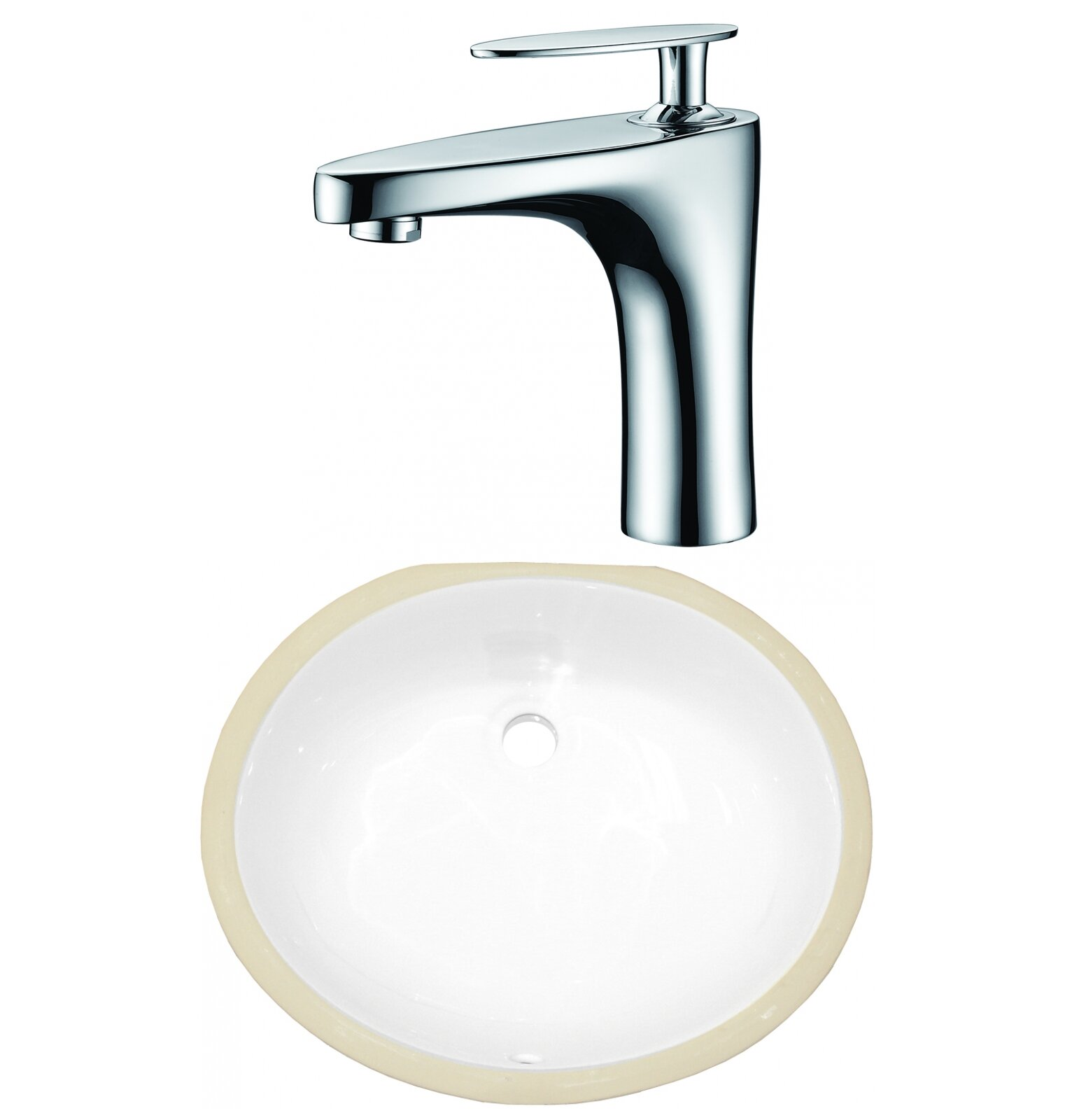 Bathroom Sinks - Undermount, Pedestal & More: Oval ...