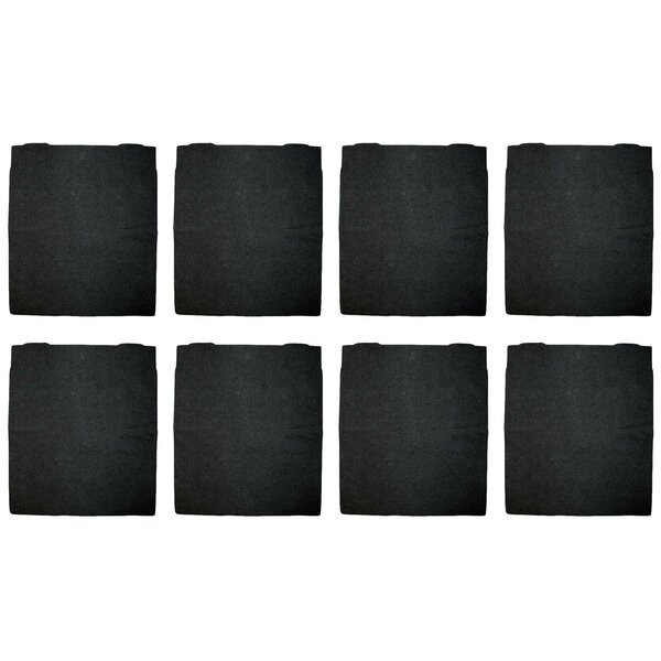 Carbon Pre Air Filter (Set of 8) by Crucial