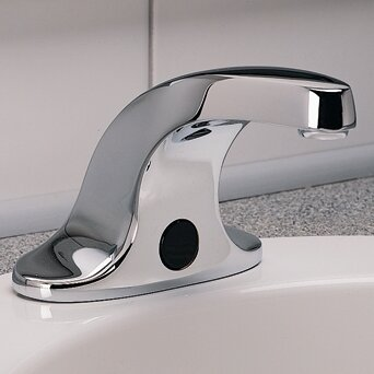 Selectronic Electronic Centerset Faucet Less Handle with Drain Assembly by American Standard