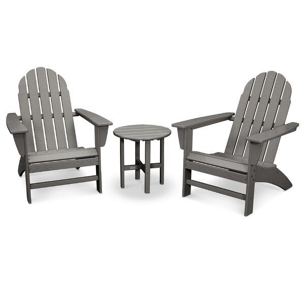 Vineyard 3 Piece Conversation Set by POLYWOOD®