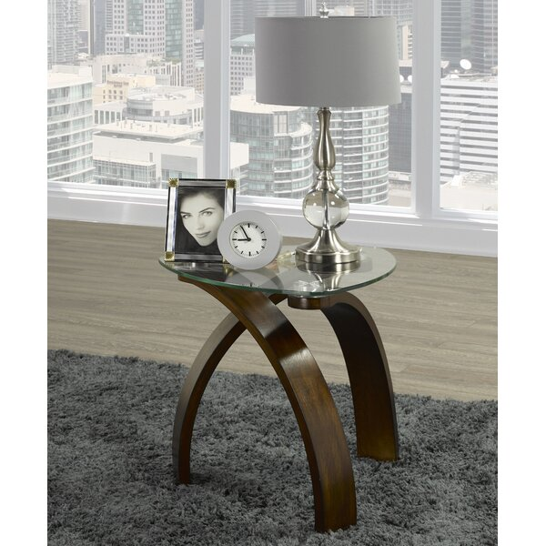 Willbanks Walnut End Table by George Oliver