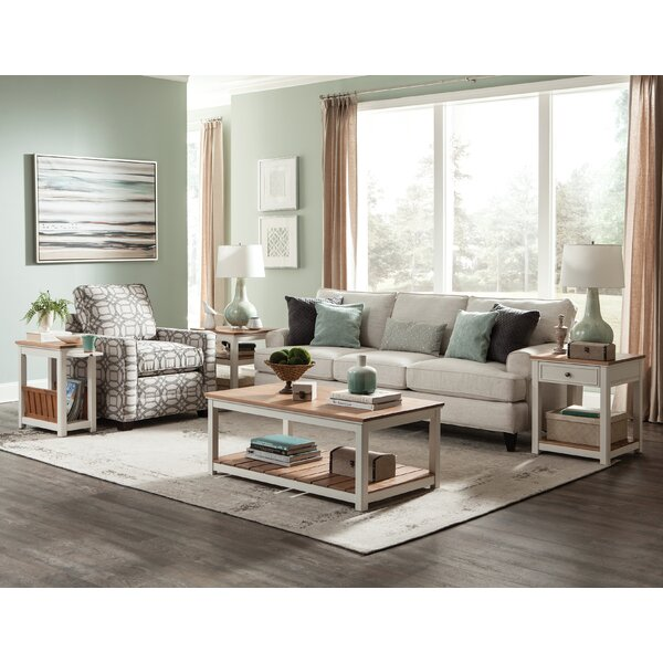 Gilmore 4 Piece Coffee Table Set by Rosecliff Heights Rosecliff Heights
