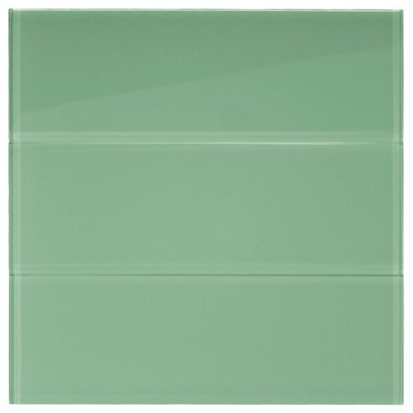 Californium 4 x 12 Glass Mosaic Tile in Sage Green by CNK Tile