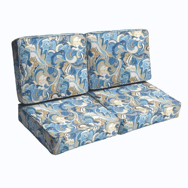 Betty Indoor/Outdoor Loveseat Cushion by Latitude Run