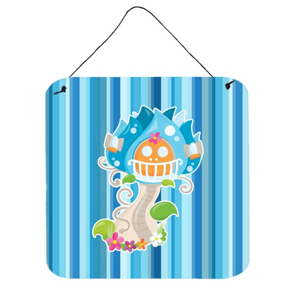 Bobbie Contemporary Fairy House Stripes Wall Décor by Harriet Bee
