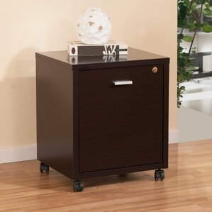 Captivating 1 Drawer Collin Single Equipment Trolley/File Cabinet