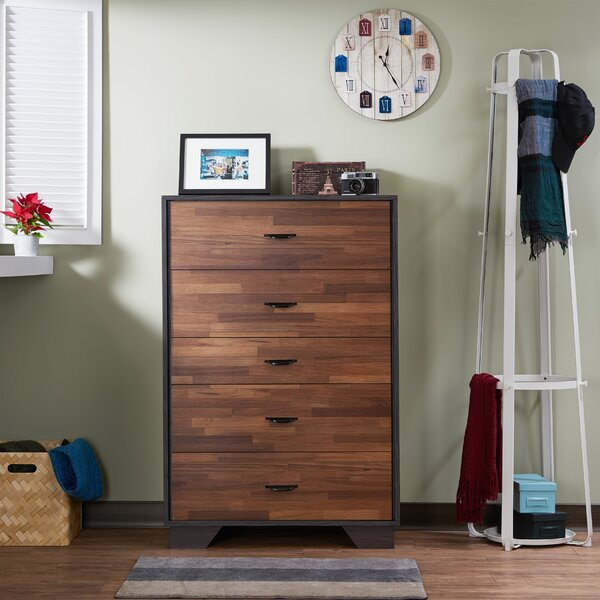 Schlemmer 5 Drawer Chest By Foundry Select