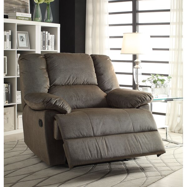 Purpose Manual Glider Recliner by A&J Homes Studio